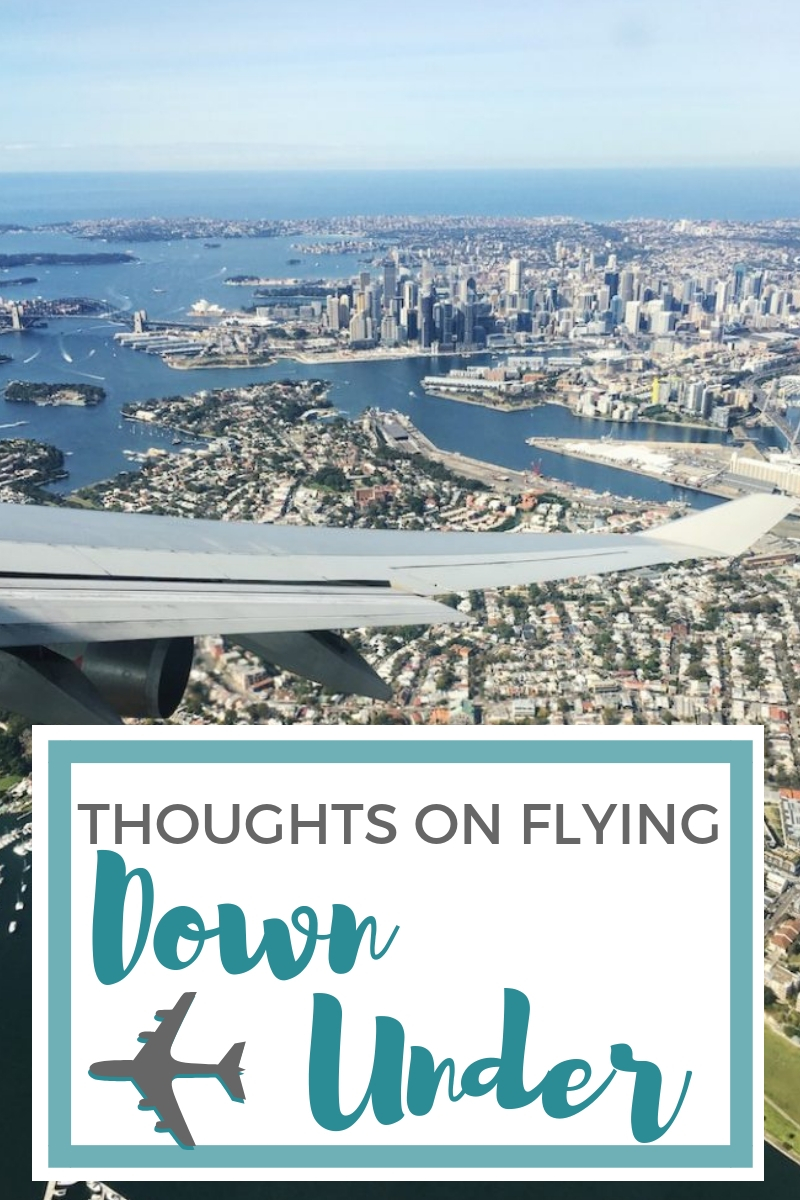 Emotional stages of flying from UK to Australia