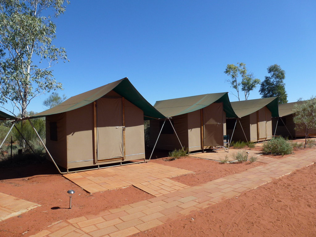 Camping in the Red Centre