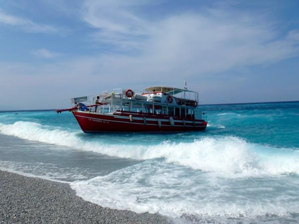 Boat trip to Lalaria Skiathos