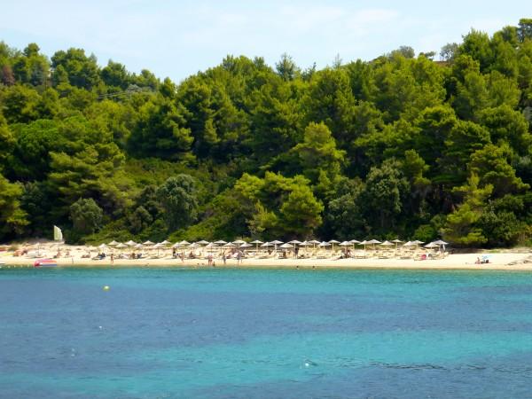 Koukounaries Beach, Skiathos