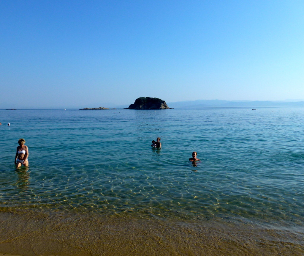Troulos Beach, Skiathos