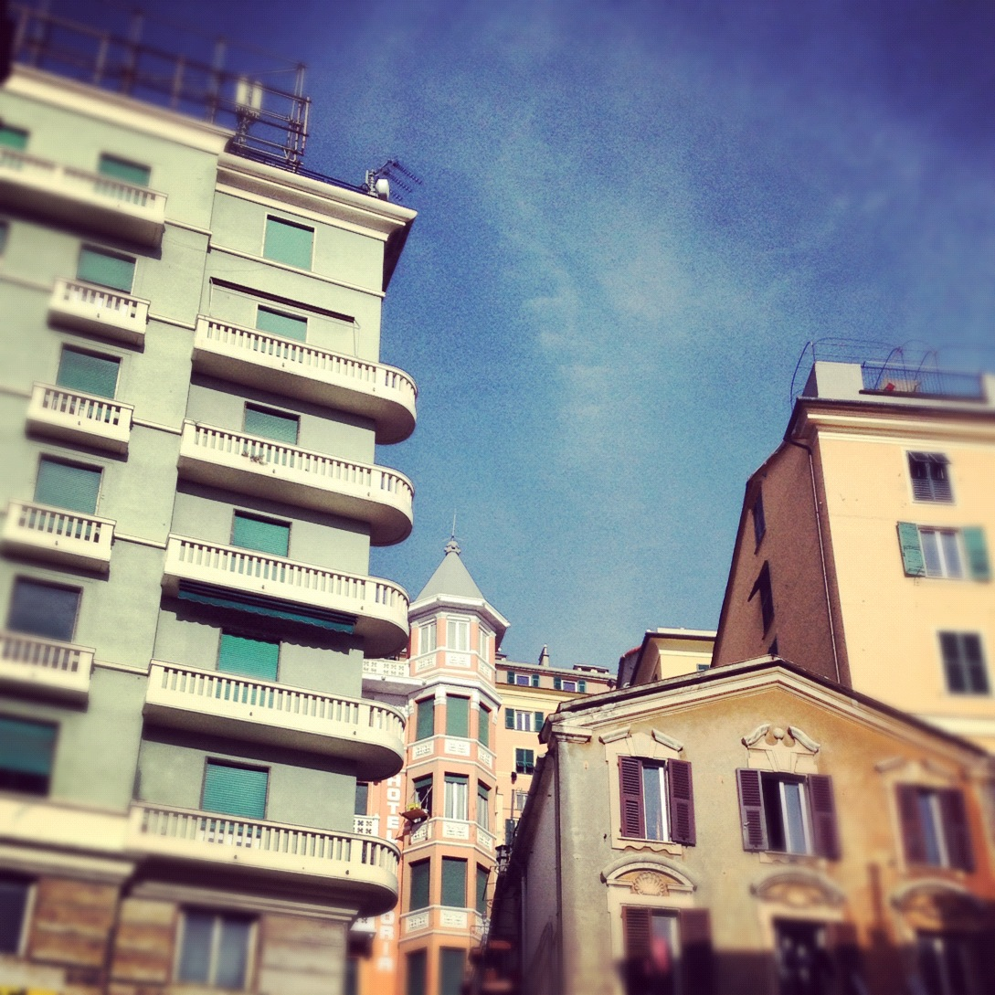 Genoa in the sunshine