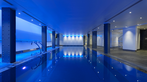 Pool at One Aldwych. Photo courtesy of the hotel