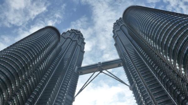 Underneath the Petronas Towers