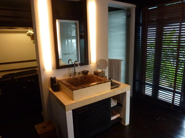 Bathroom at Nam Hai