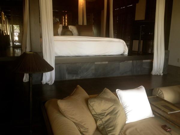 Bed at Nam Hai