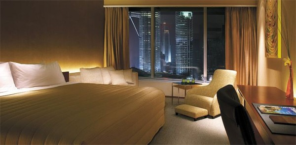 City view suite at Traders Hotel