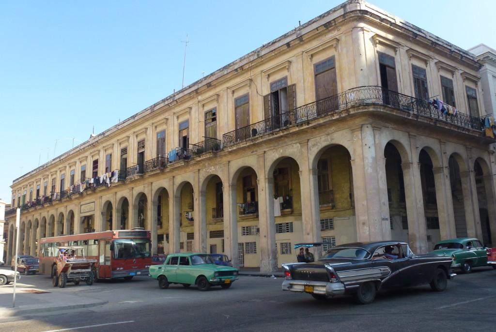 Corner of Parque Central, Havana, Cuba