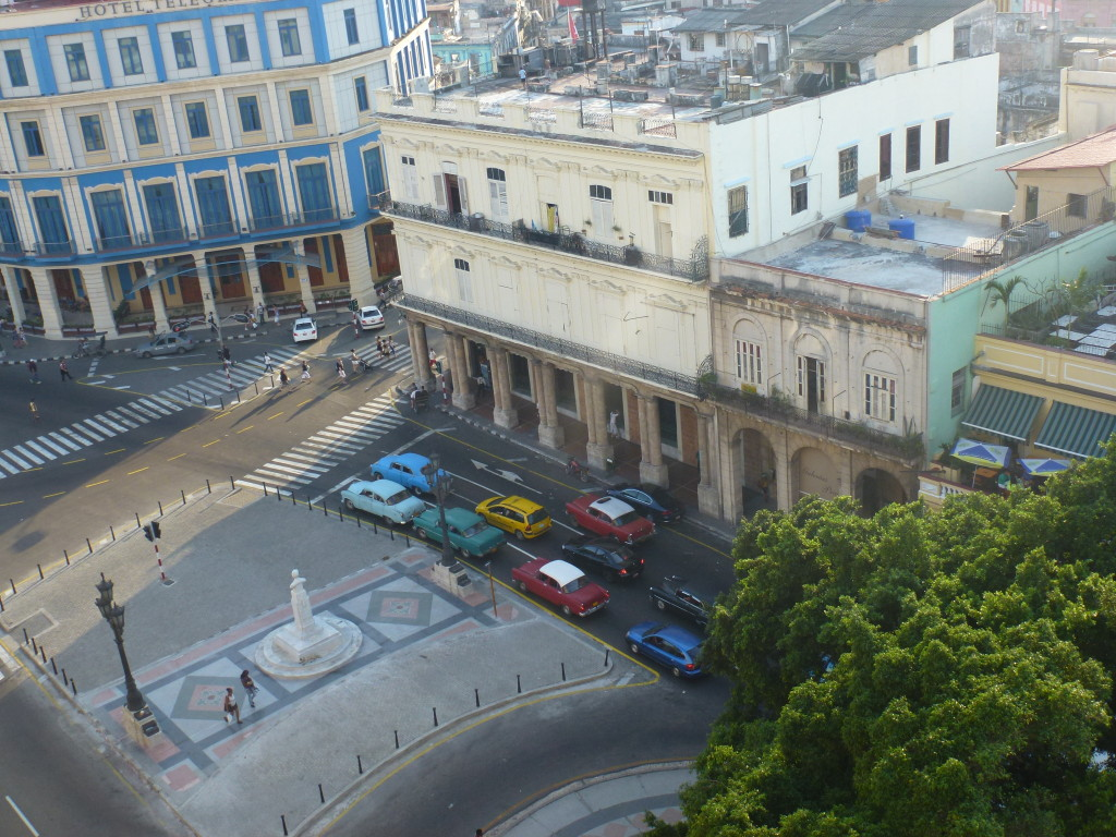 View from NH Parque Central - Thoughts on my first visit to Cuba