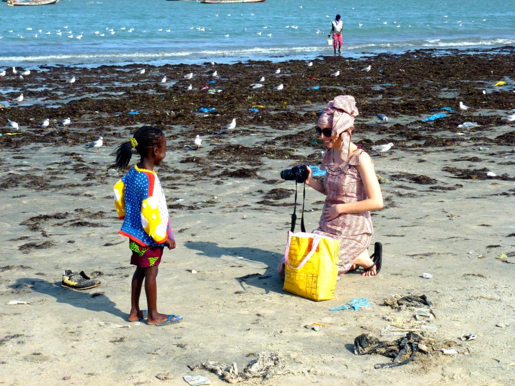 Jai at Tanji Fish Market The Gambia