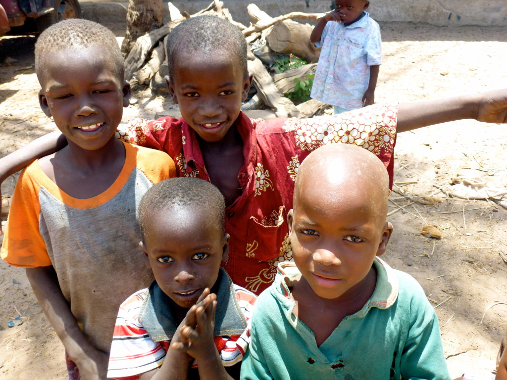 First impressions of the Gambia - Children in Bafuloto