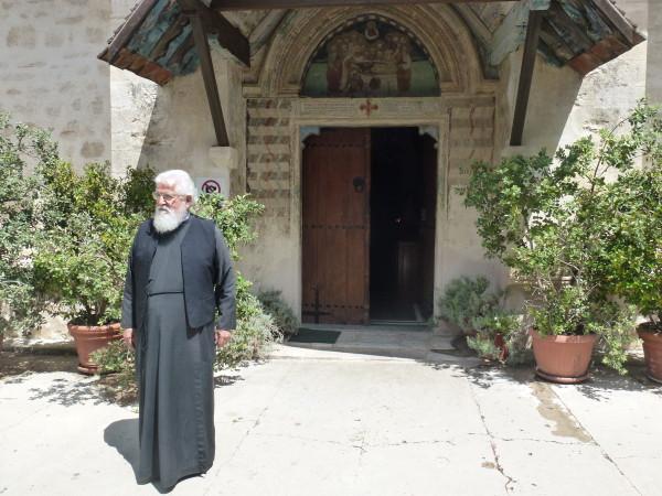 Father Dionysius at Chrysorrogiatissa Monastery