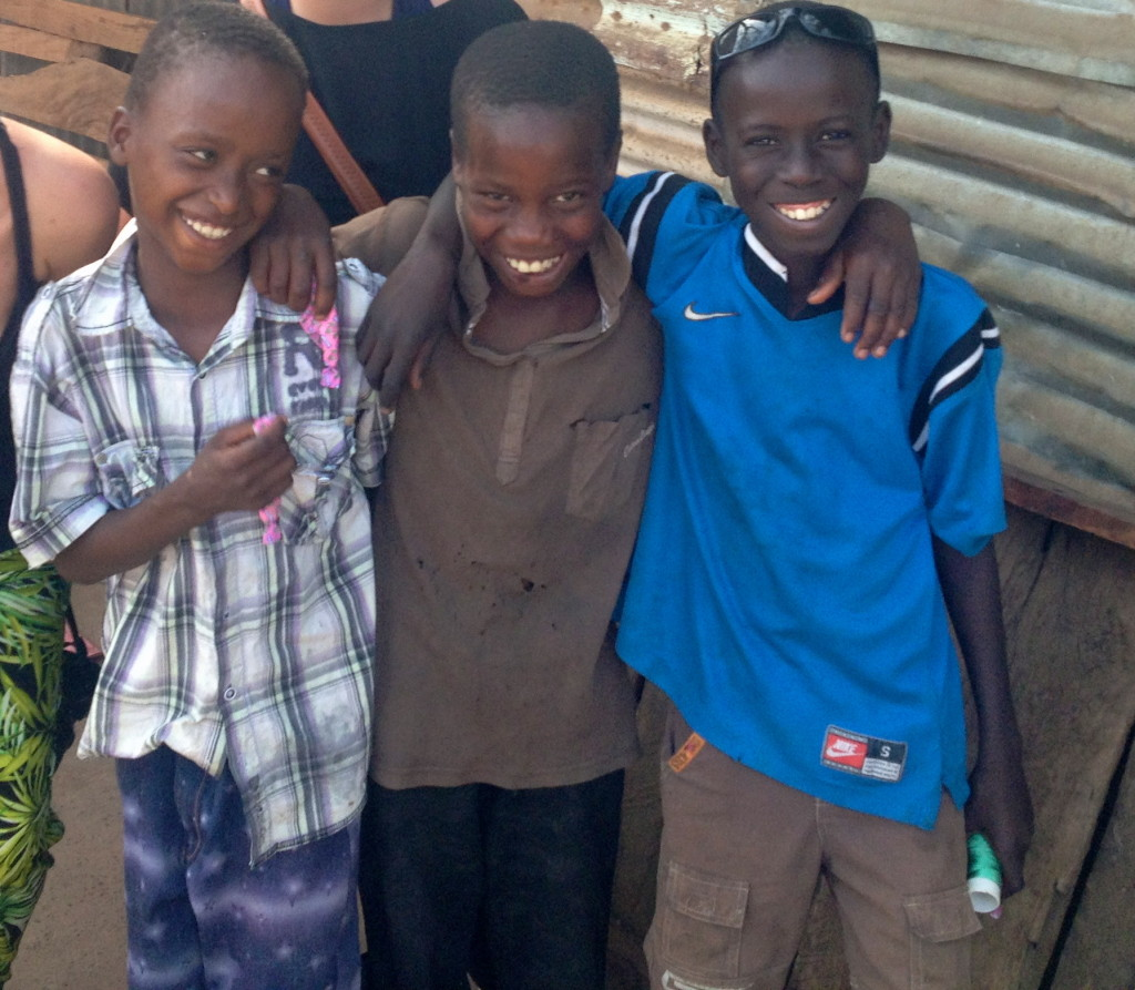 gorgeous children in the Gambia