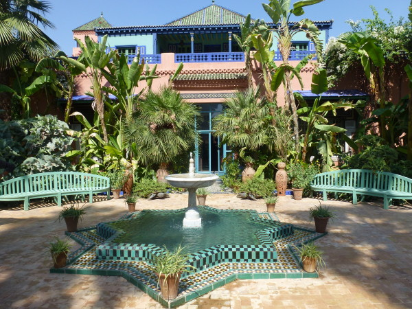 Home of YSL and Berger in Marrakech