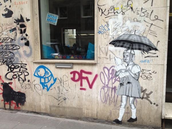 Street art in Cologne