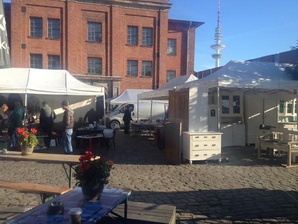 Flohschanze Flea Market Hamburg