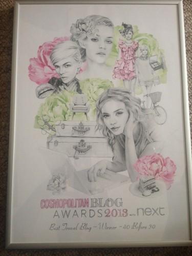 cosmo award