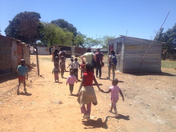 Making friends in Soweto