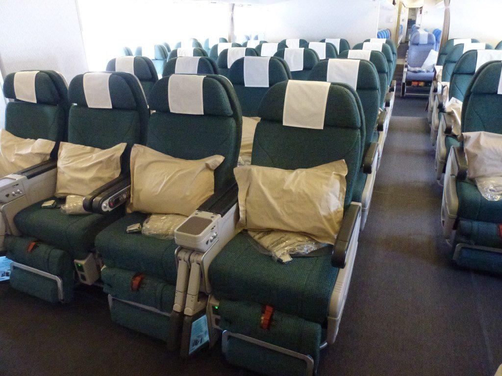 Flight Review: Cathay Pacific Premium Economy - Hong Kong to London