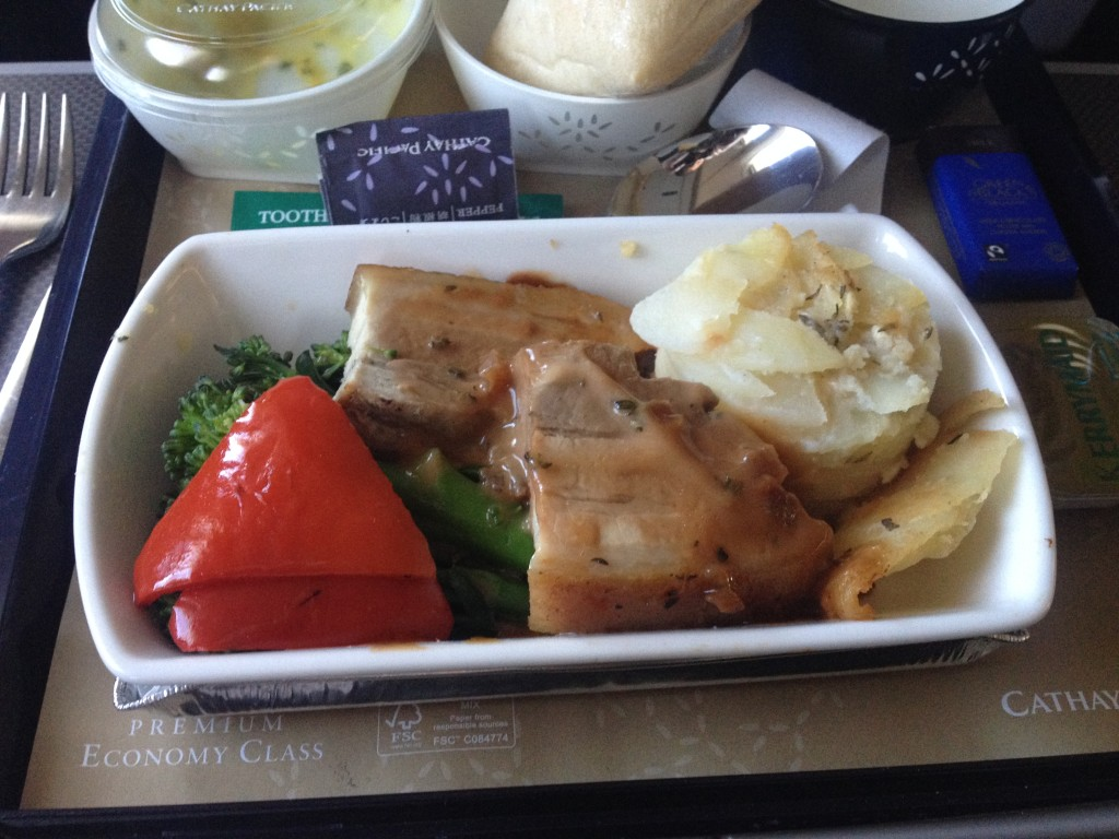 Flight Review: Cathay Pacific Premium Economy - Hong Kong to London