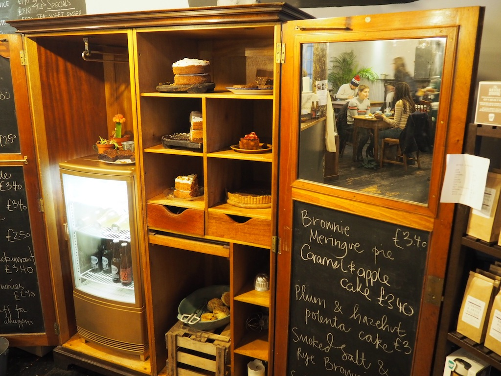 A magic wardrobe full of cake at Lovecrumbs