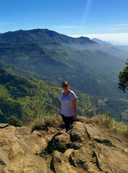 Hiking Ella Rock in Sri Lanka