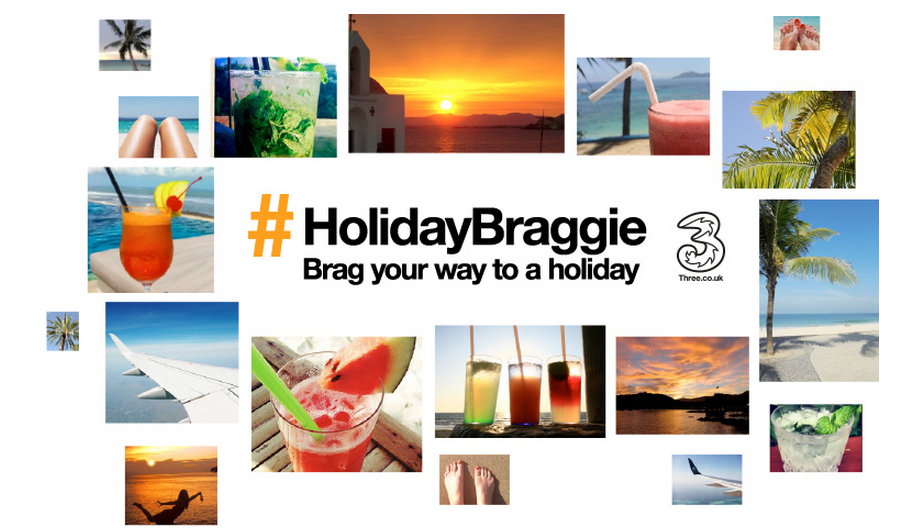 Brag Your Way To A Holiday With Three UK