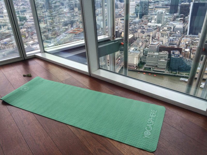 Yoga In The Clouds At The View From The Shard