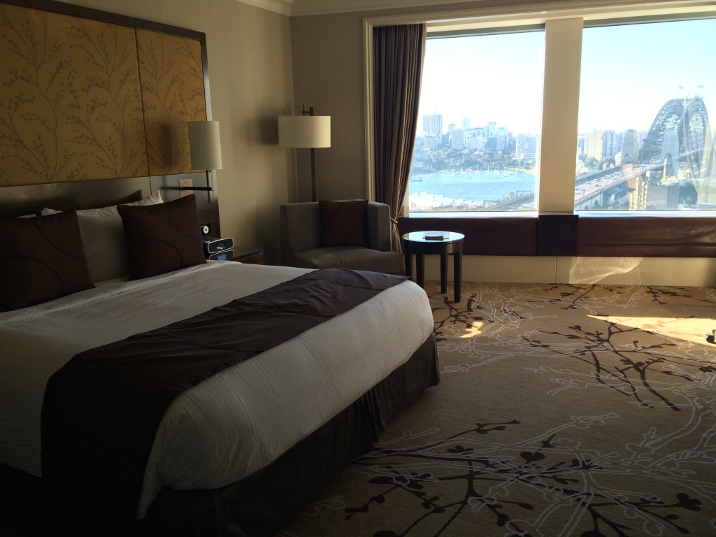 The Hotel With The Best Harbour View: Shangri-La Sydney