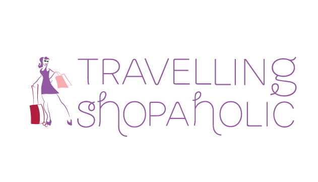 Logo Travelling Shopaholic Final vector color variant 3