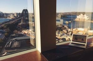 From Where I Work: Shangri-La Hotel Sydney