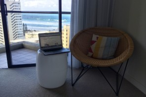 From Where I Work: QT Gold Coast for Problogger