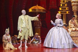 The King & I Photos by Brian Geach