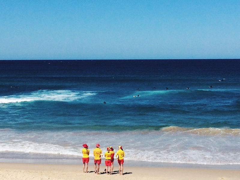 Lifeguards in training for the Summer season