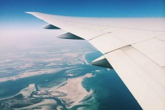 Somewhere over Abu Dhabi