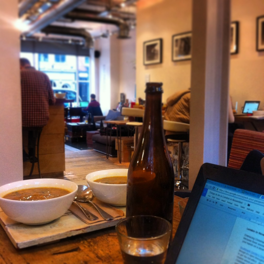 Timberyard Old Street London is a great base for bloggers