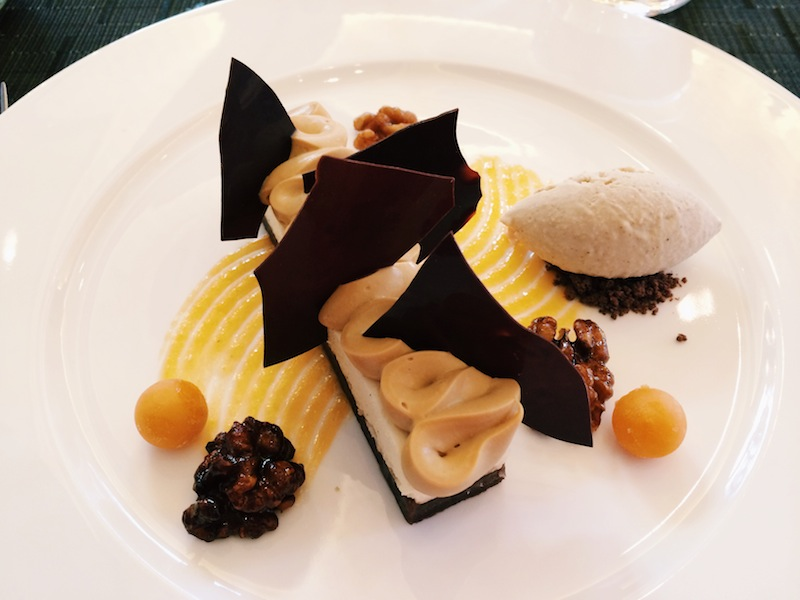 All my dessert dreams come true - a vanilla & salted caramel cheesecake at The Northall