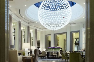 Making a magnificent first impression - the Lobby Lounge at Corinthia Hotel London (Photo by Corinthia London)