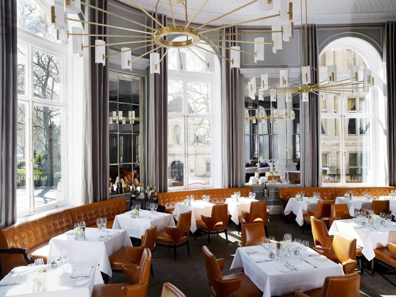 Dining at The Northall (Photo by Corinthia London)