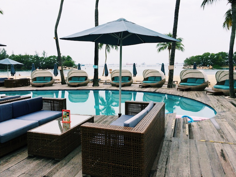 The Miami-inspired Mambo beach club on Sentosa Island