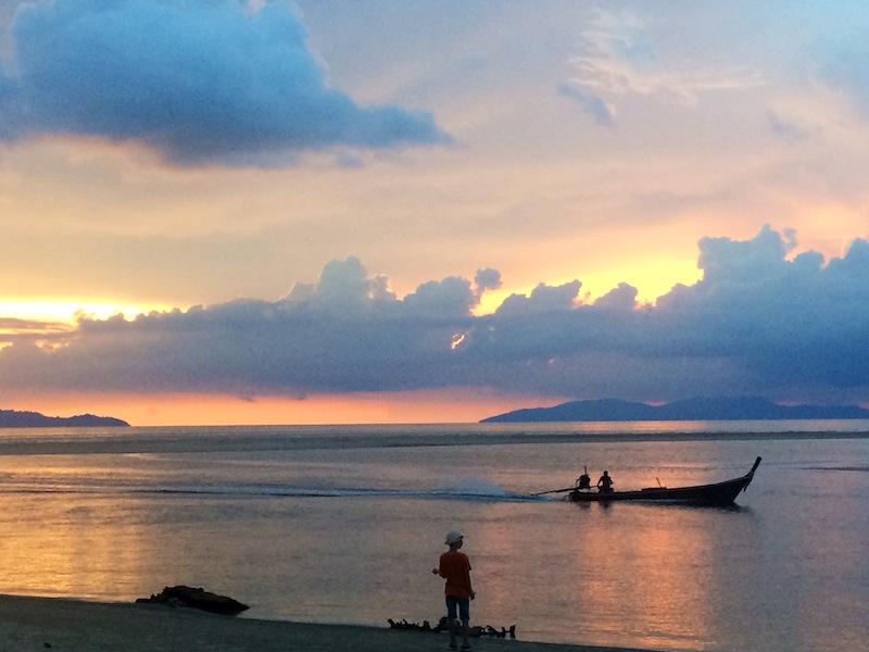 Sunset at Anantara Si Kao