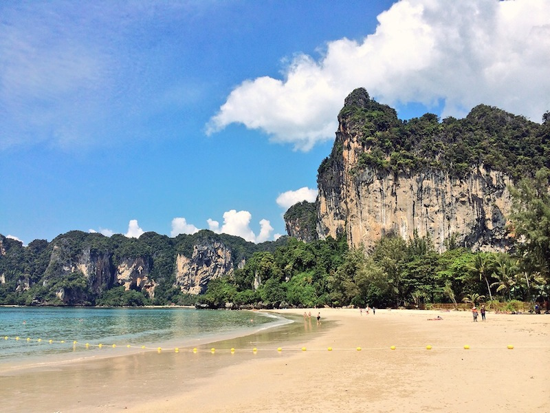 Railay Bay was just how we pictured it