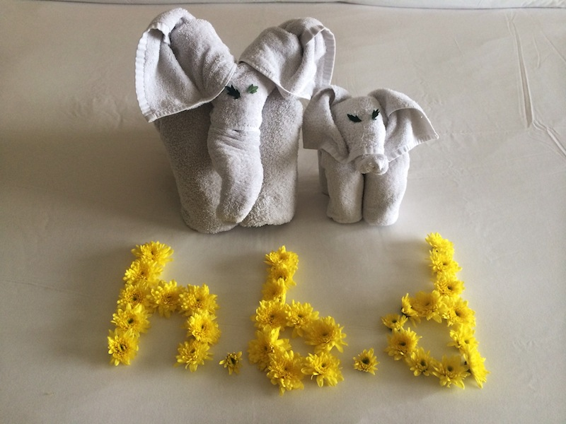 A message from housekeeping