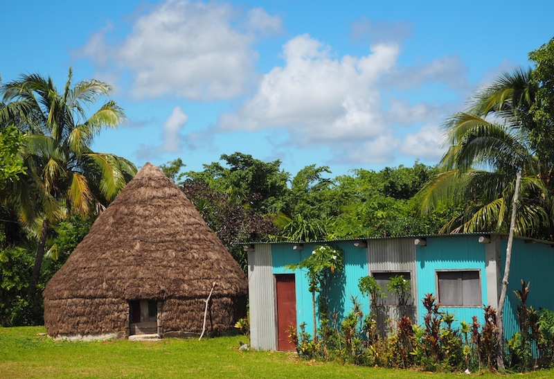 Traditional Melanesian home in Lifou