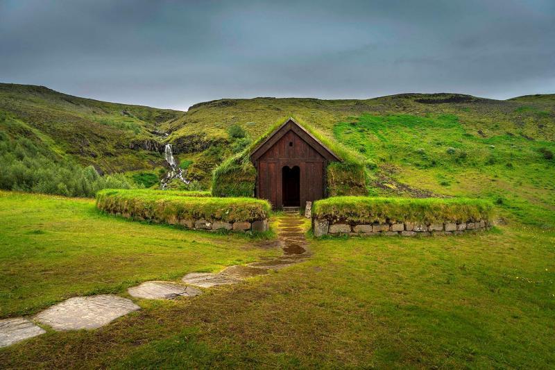 Game of Thrones filming location at the viking era settlement in Þjórsardalur Iceland