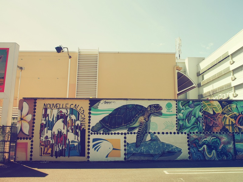 Street art in Noumea, New Caledonia