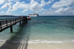 From Where I Work: On Board The Carnival Legend In The South Pacific