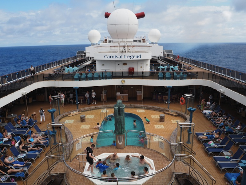 My first cruise on Carnival Legend