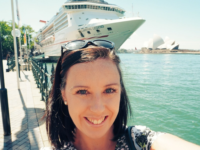 cruise ship, Opera House, blogger - tick