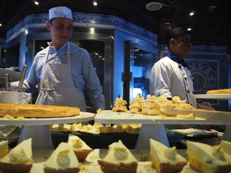 The Sweet Spot - desserts on the Carnival Legend